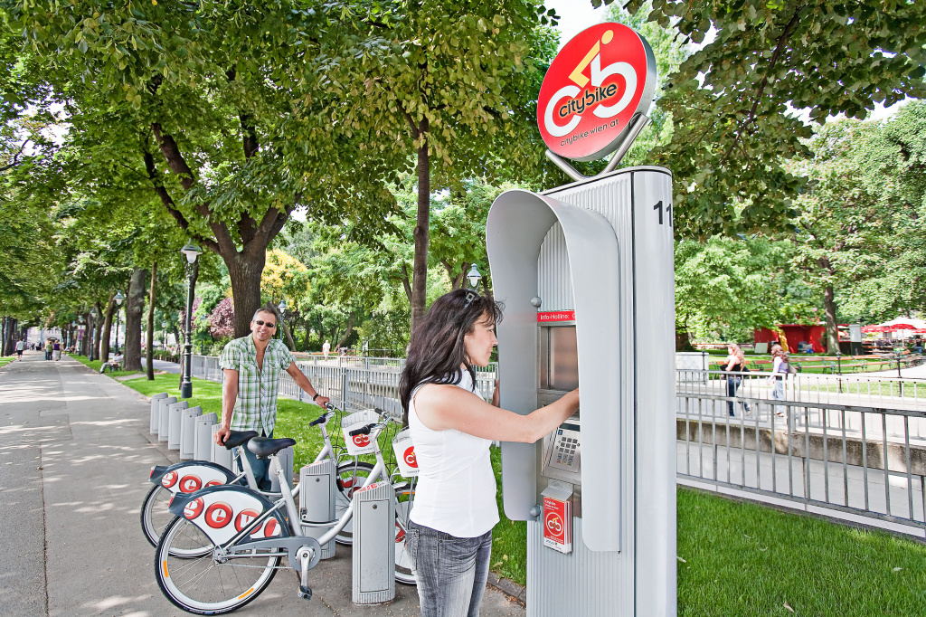 Vienna's bikeshare system reaches 500,000 users mark
