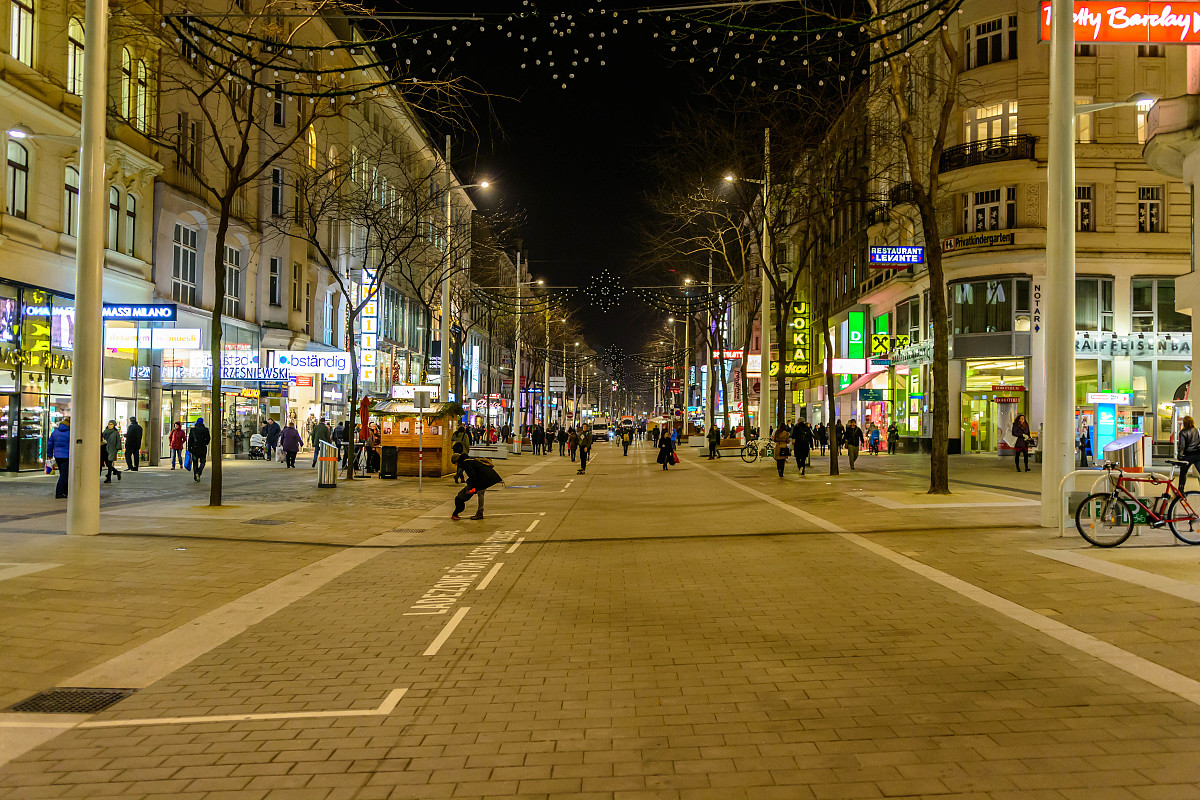 pedestrian zone and - photo #29