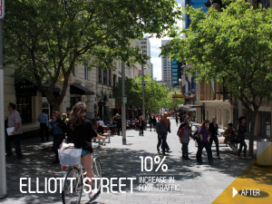 Elliott Street Shared Space after
