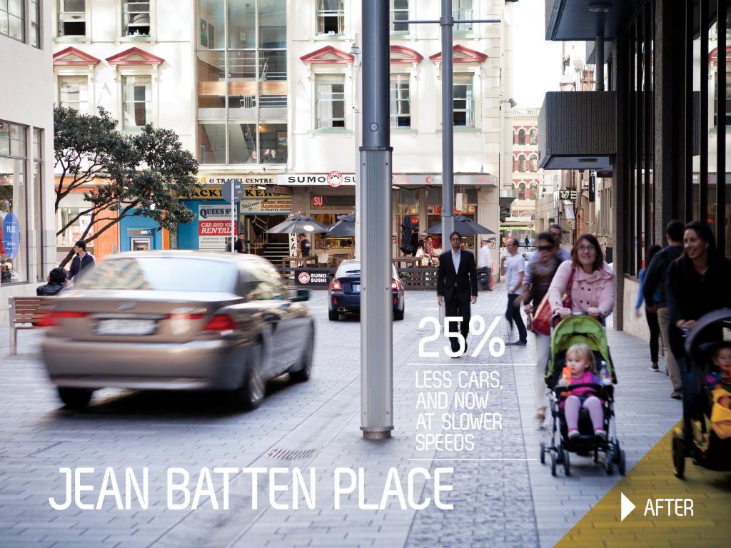 Jean Batten Place after