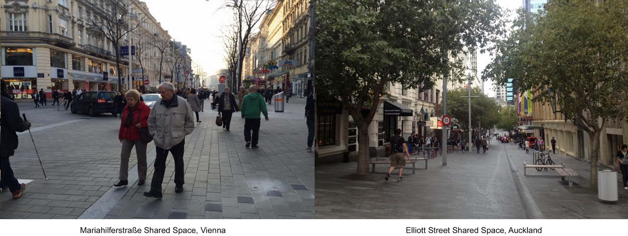 Transforming A Street Before After Images Of Viennas