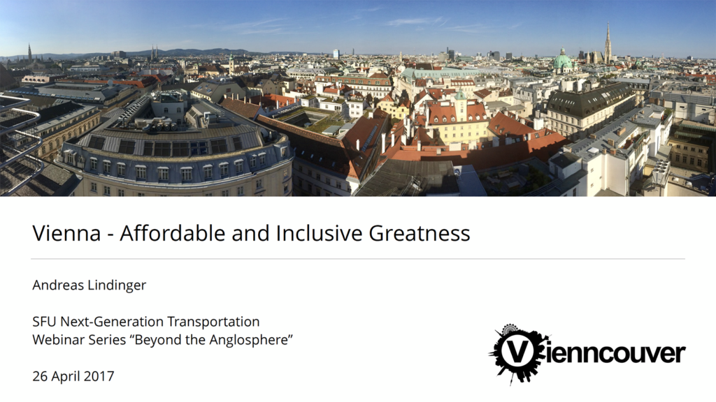 Vienna – Affordable and Inclusive Greatness